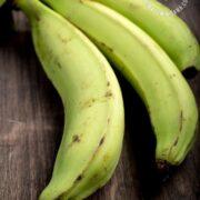 Unripe plantains