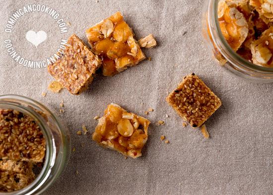 Dulces mani y ajonjoli recipe peanut and sesame candies forumfinder Choice Image