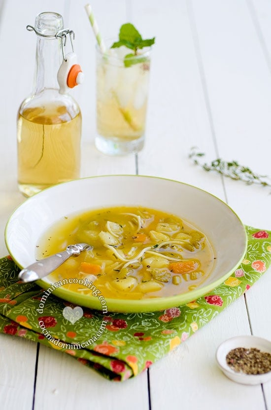 Sopa Boba - Recipe & Video (Vegetable Soup): a lighter, easier, meat-free alternative to other soups in our blog.