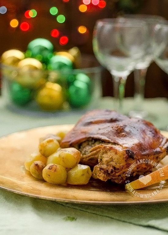 Puerco Asado Recipe (Pork Roast): This is the main dish in our Christmas and New Year's dinner meals.