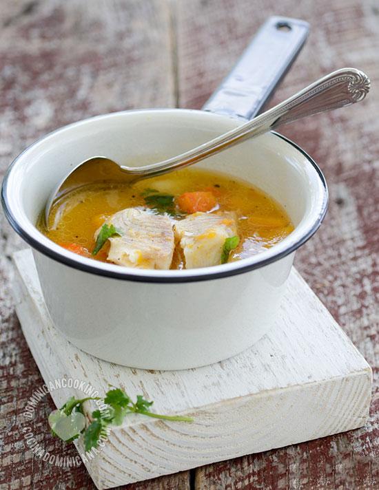 Sopa de Pescado Recipe (Fish Soup)