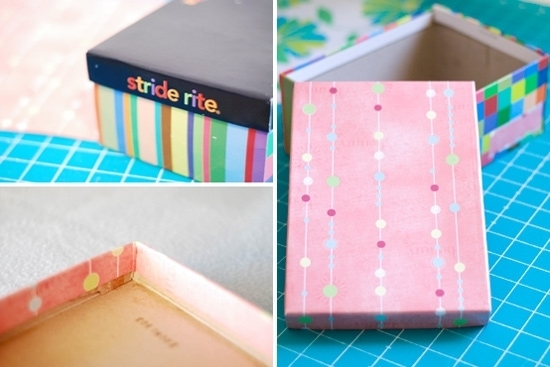Small Storage Solutions, and a Tutorial: And now I'll show you how to make some inexpensive storage boxes that look very nice once finished.
