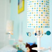 Renewing a Lamp Shade on the Cheap