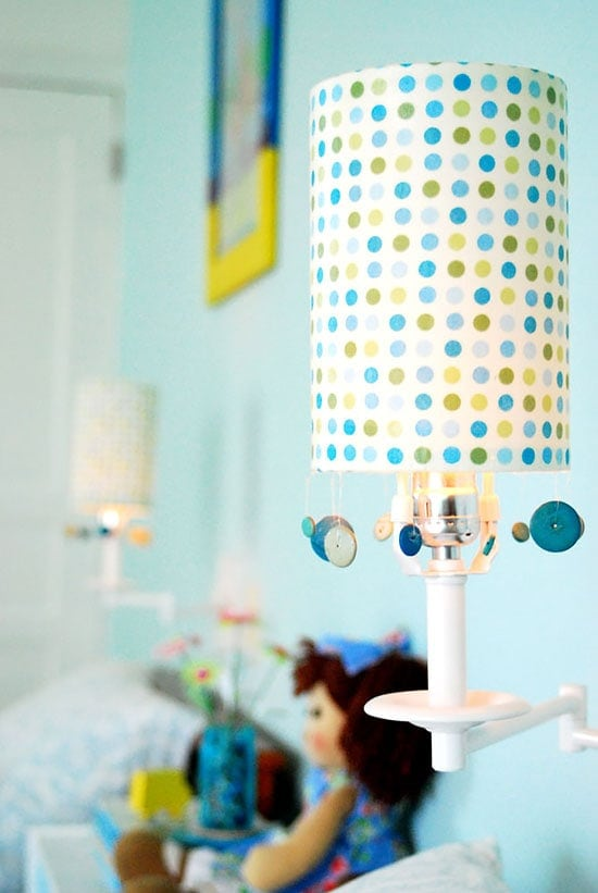 renewed lampshades on the cheap