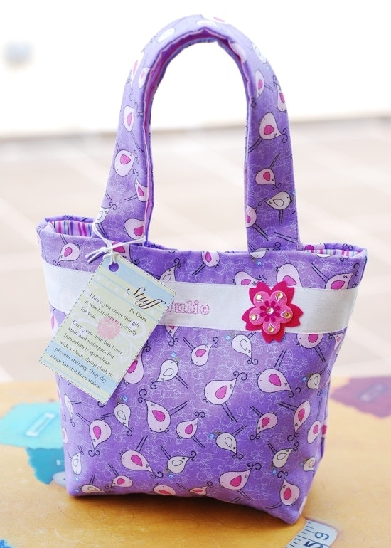 Tote Bag for Little Girls