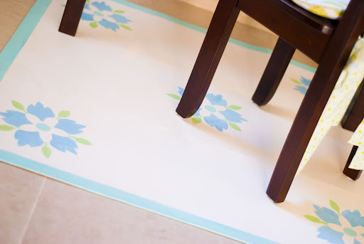 Do you want to see how I created a cute, colorful DIY floor pad that cost me nothing? Read along.