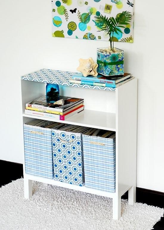 Refurbishing a cheap bookcase for Super cheap furniture