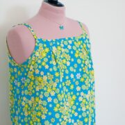 Garden Breeze Camisole - You'll find here the instructions to make your own.