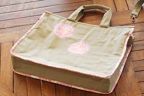 Handmade laptop bag pattern