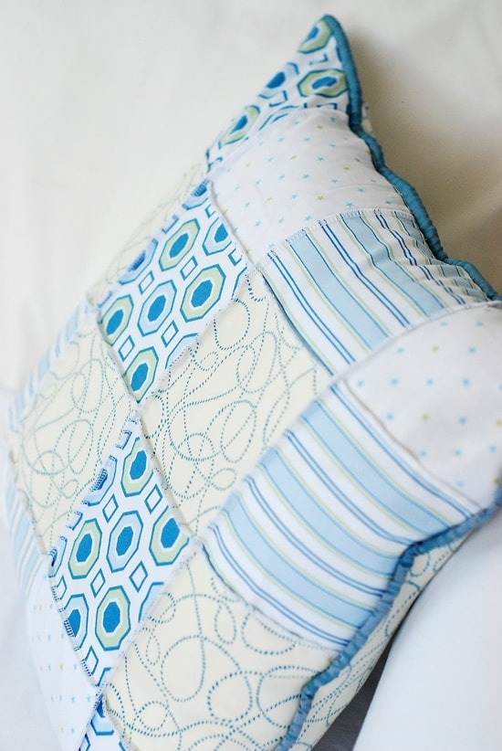 How to Sew an Easy Patchwork Pillow