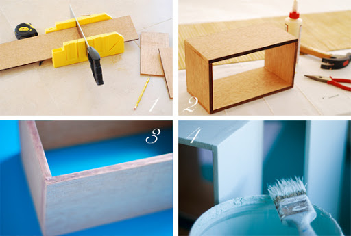 How to make DIY wall boxes