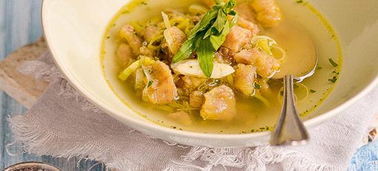 Plantain soup (aguaji)