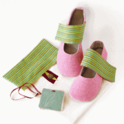 LaLa! Handmade Fabric Shoes: Her designs are fresh, and unique, the execution is flawless and her photos are lovely.