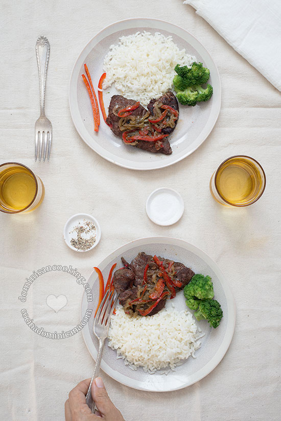 Higado Encebollado Recipe (Liver with Onions): If you like liver, then you will certainly like this flavorful Dominican version.