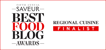 Saveur Magazine's Best Food Blog Award