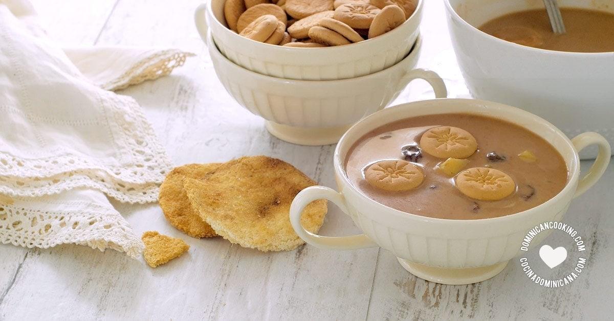 Habichuelas con Dulce (Sweet Cream of Beans)