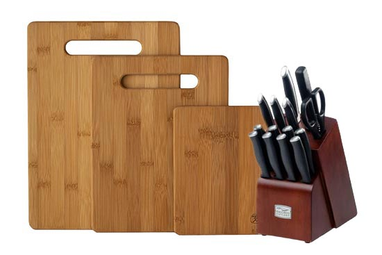 Knife Set and Cutting Boards