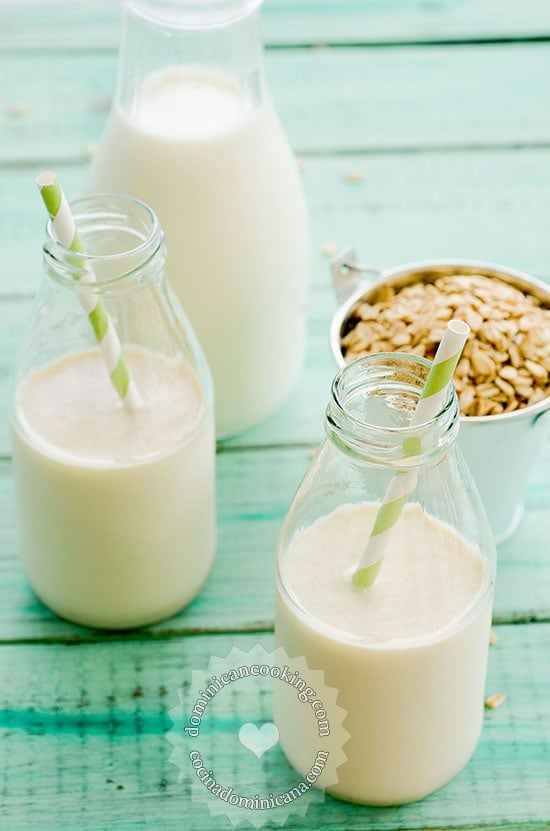 Jugo de Avena Recipe (Oats and Milk Drink)