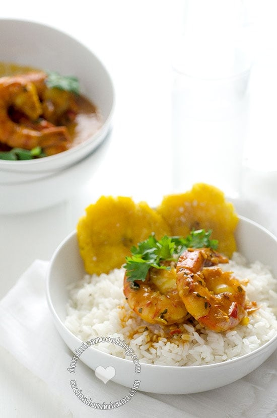 Shrimp with Coconut and Ginger Sauce Recipe: Although not a traditional Dominican recipe, it is inspired by the classic cuisine from Samana. We love it.