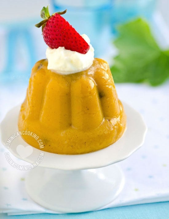 'Flan' de Auyama Recipe (West Indian Pumpkin Pudding): it requires no fancy preparation or ingredients, and the most important thing: it tastes heavenly.
