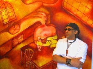 My Dominican food: German Perez - Musician and visual artist