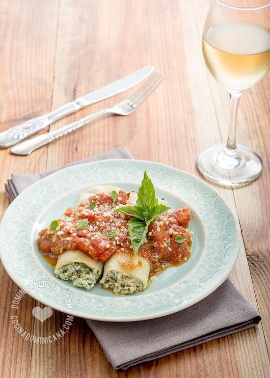 Cannelloni ricotta e spinaci (Spinach and Ricotta ...