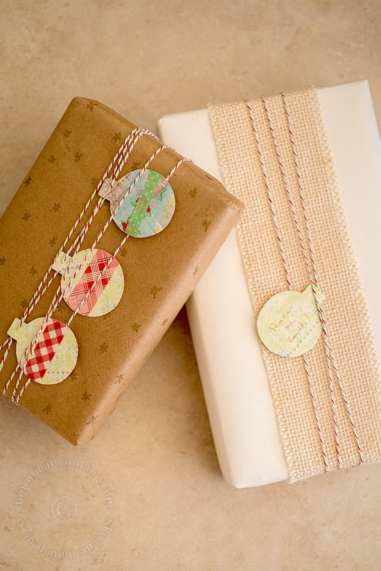 Kraft Paper Gift-Wrapping
