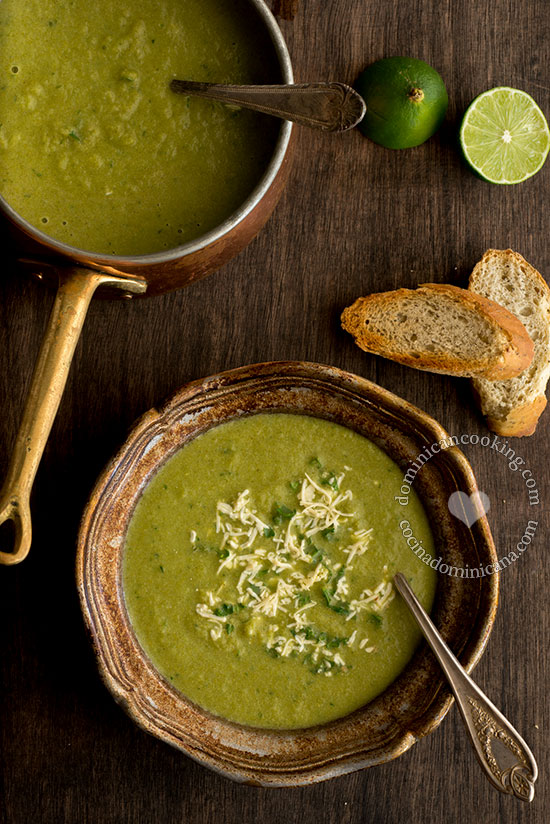 Cream of Broccoli and Potato Soup Recipe: Simple, filling, with few ingredients and taste as good warm as it tastes at room temperature. It can be served year-round.