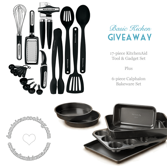 Basic Kitchen Set + Basic Baking Pans Set Giveaway. You'll love these!