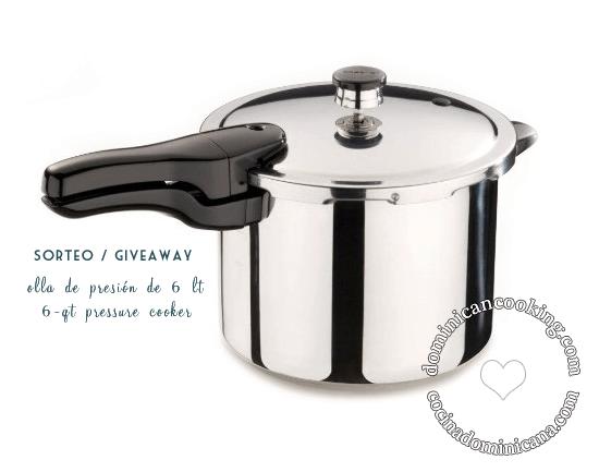 Giveaway: 6-qt Pressure Cooker