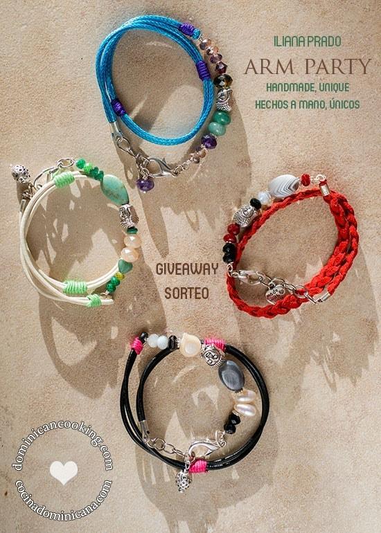 Giveaway: Arm Party by Iliana Prado