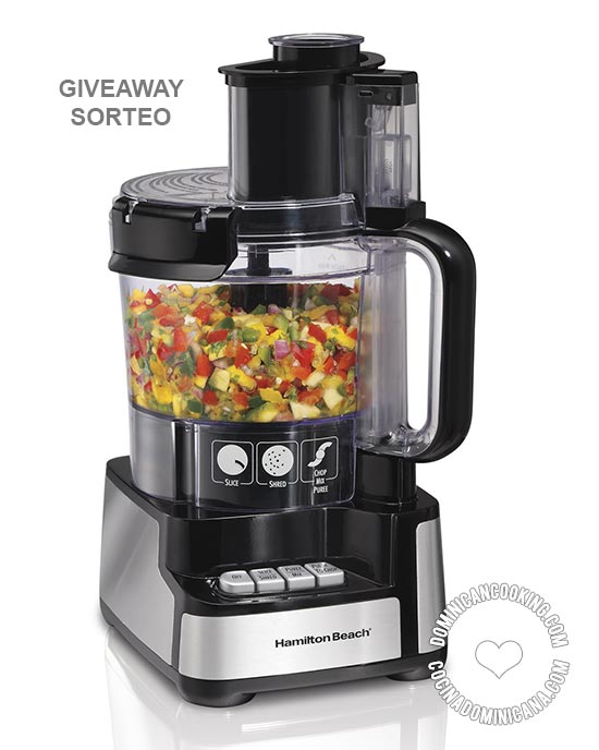 Giveaway: 12-Cup Food Processor [US, DR]