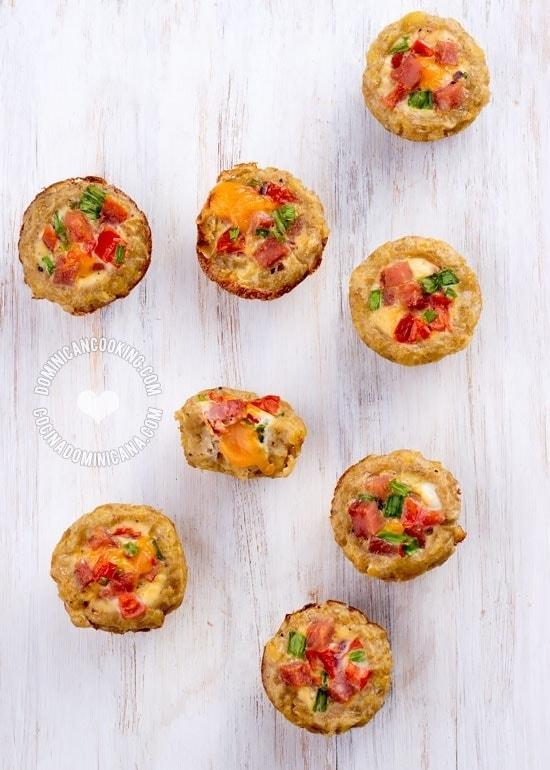Receta Bocaditos de Mangú | Basado en nuestro popular desayuno, hemos hecho estos bocaditos, perfectos para una fiesta o bufet. Son tan ricos como se ven.