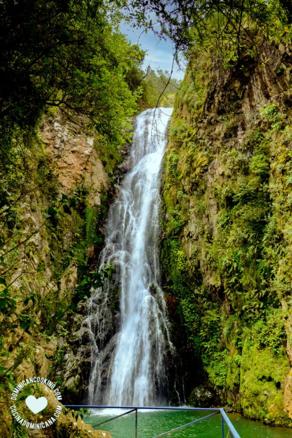 Aguas Blancas waterfall