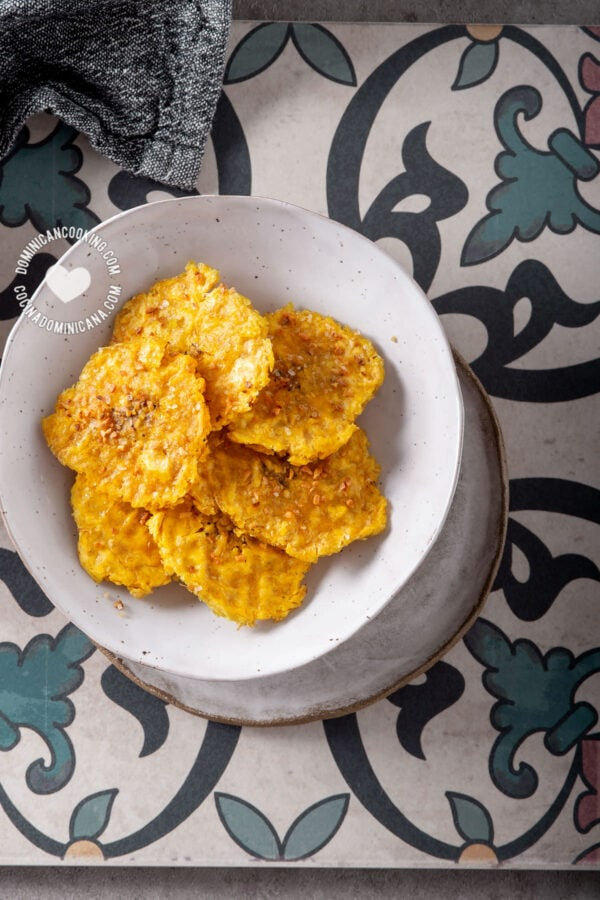 Tostones with Air Fryer or Oven