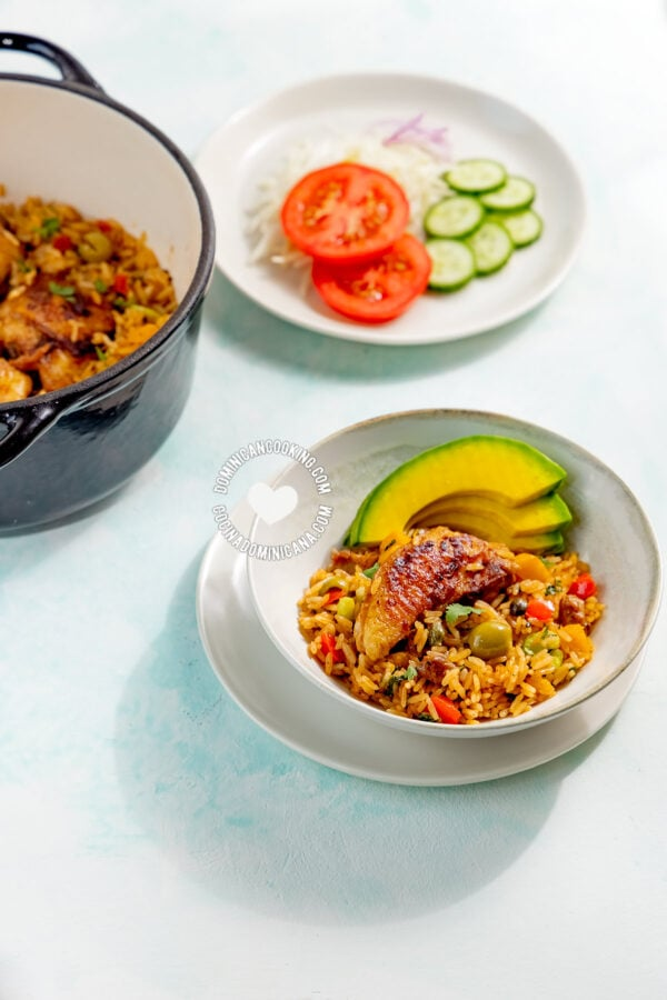 Locrio de Pollo (Rice and Chicken)