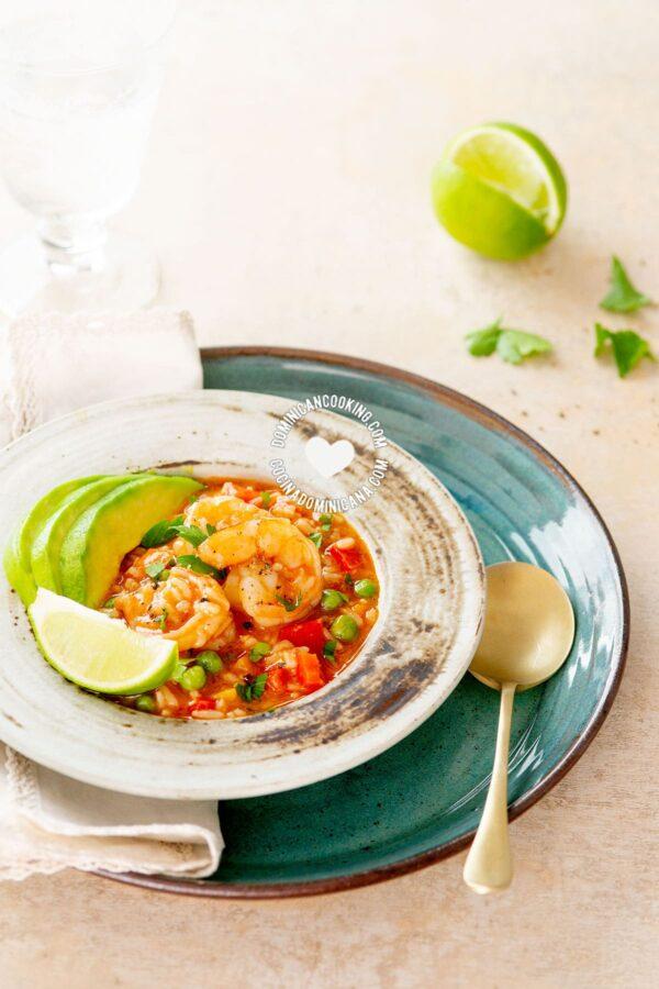 Asopao De Camarones Recipe Video Of Amazing Rice Shrimp Pottage