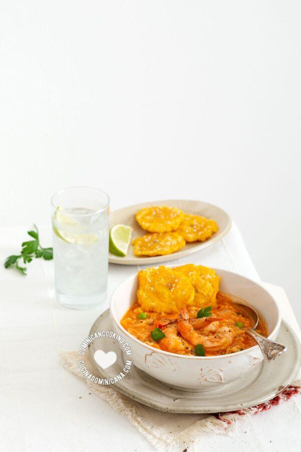Asopao de Camarones (Shrimp and Rice Pottage)