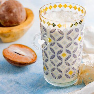 Batida de Níspero (Sapodilla Milkshake)