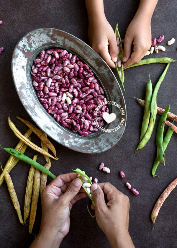 beans, habichuelas