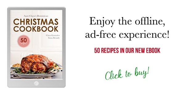Dominican Christmas Cookbook