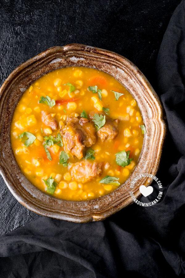 Buche' Perico (Corn and Pumpkin Stew)