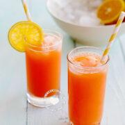 Jugo de Zanahoria y Naranja (Carrot and Orange Juice)