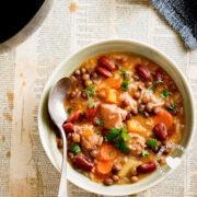 Chambre recipe legume, rice, stew