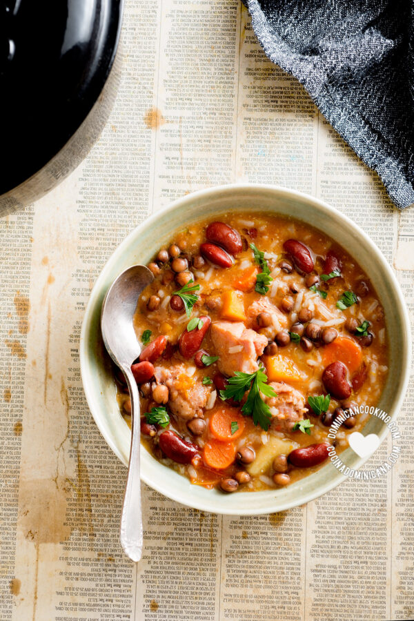 Chambre (Legumes, Rice, and Meat Stew)