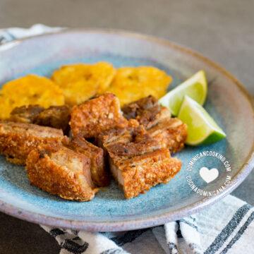 Chicharrón de Cerdo (Dominican Pork Crackling)