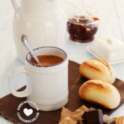 Chocolate de Agua (Cup of Non-Dairy Cocoa)