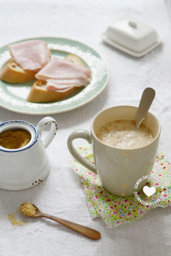 "Cup of Chocolate de Maní (Peanut ""Cocoa"")"