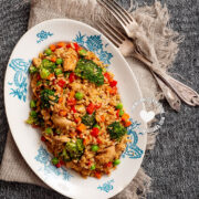 Low-Carb Cauliflower Chofan (Fried Rice)
