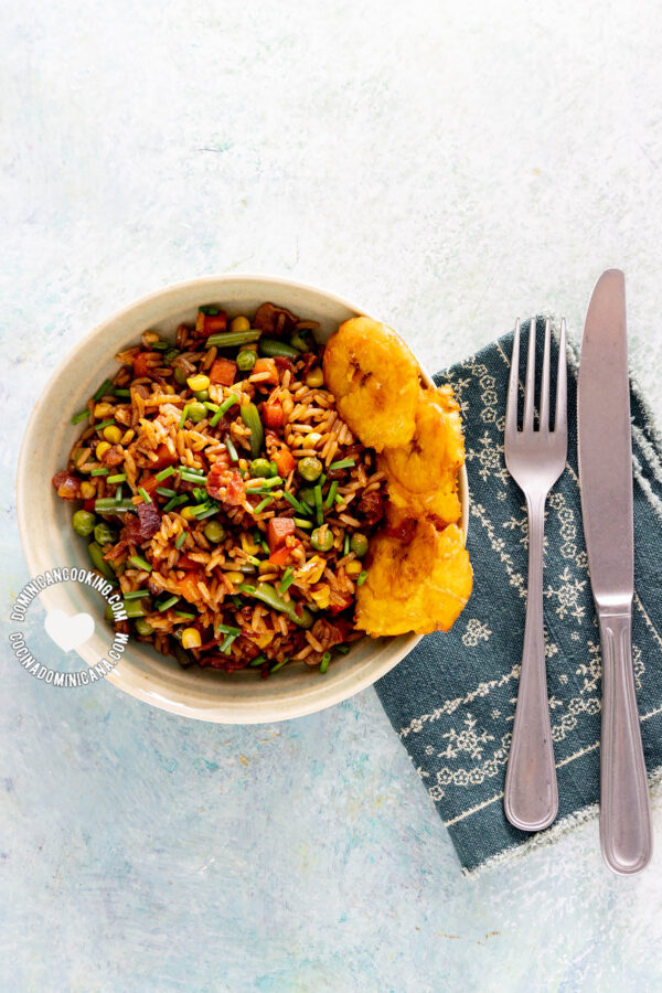 Chofan (Dominican Chow Fan Fried Rice)